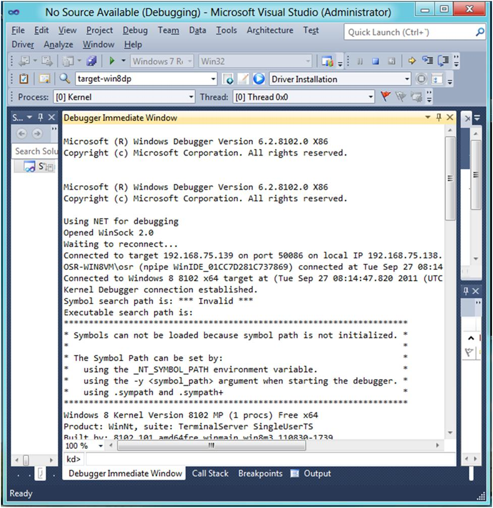 The NT Insider:WDK Preview: Installation Through Debugging